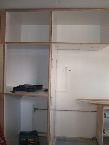 Kitchen - Fridge n Washing Machine Area