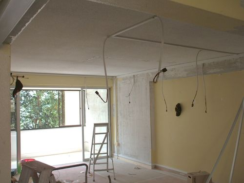 Wiring at Living Room