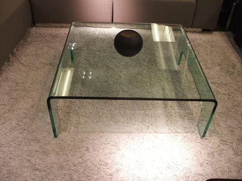 900 x 900 Glass Coffee Table
