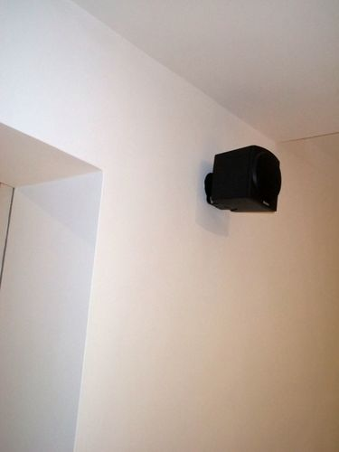 Right Rear Speaker in Living Room