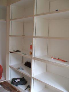 Guest Room Wardrobe - Shelves Area