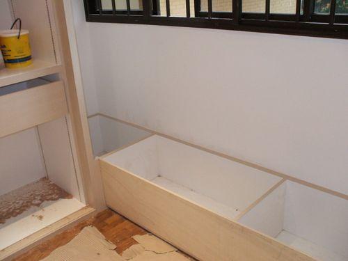 Window Low Bench