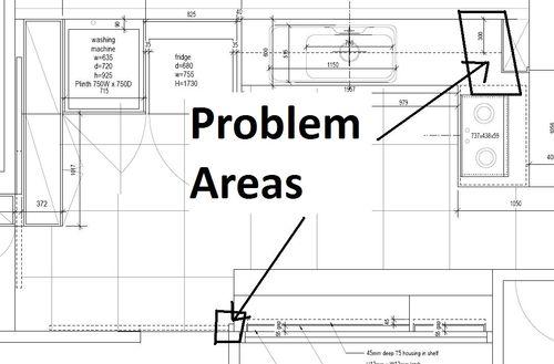 Problem Areas in Kitchen