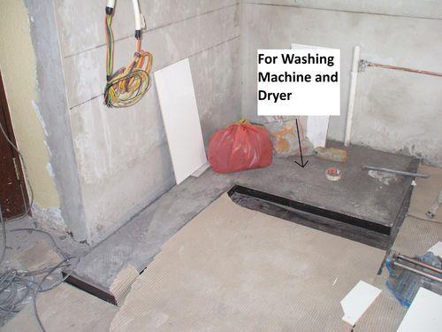 Plinth for Washing Machine & Dryer