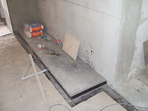 Plinth for Right Side Low Cabinet