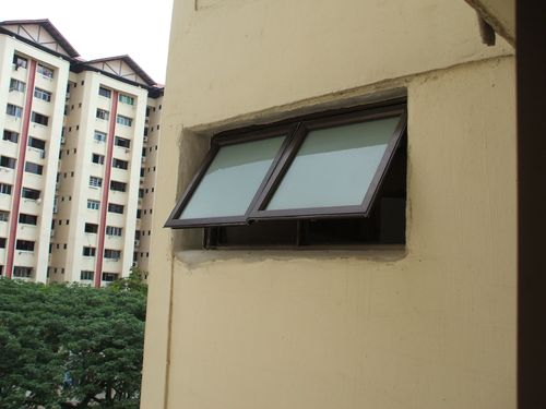 New Window for MBR Toilet