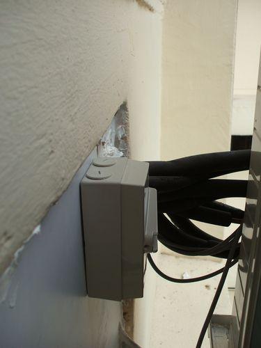 Aircon Daikin Power Switch