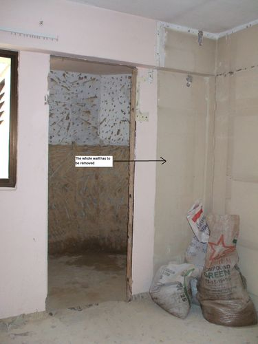 Entrance to MBR Toilet