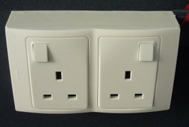Legrand Mallia Double Sockets